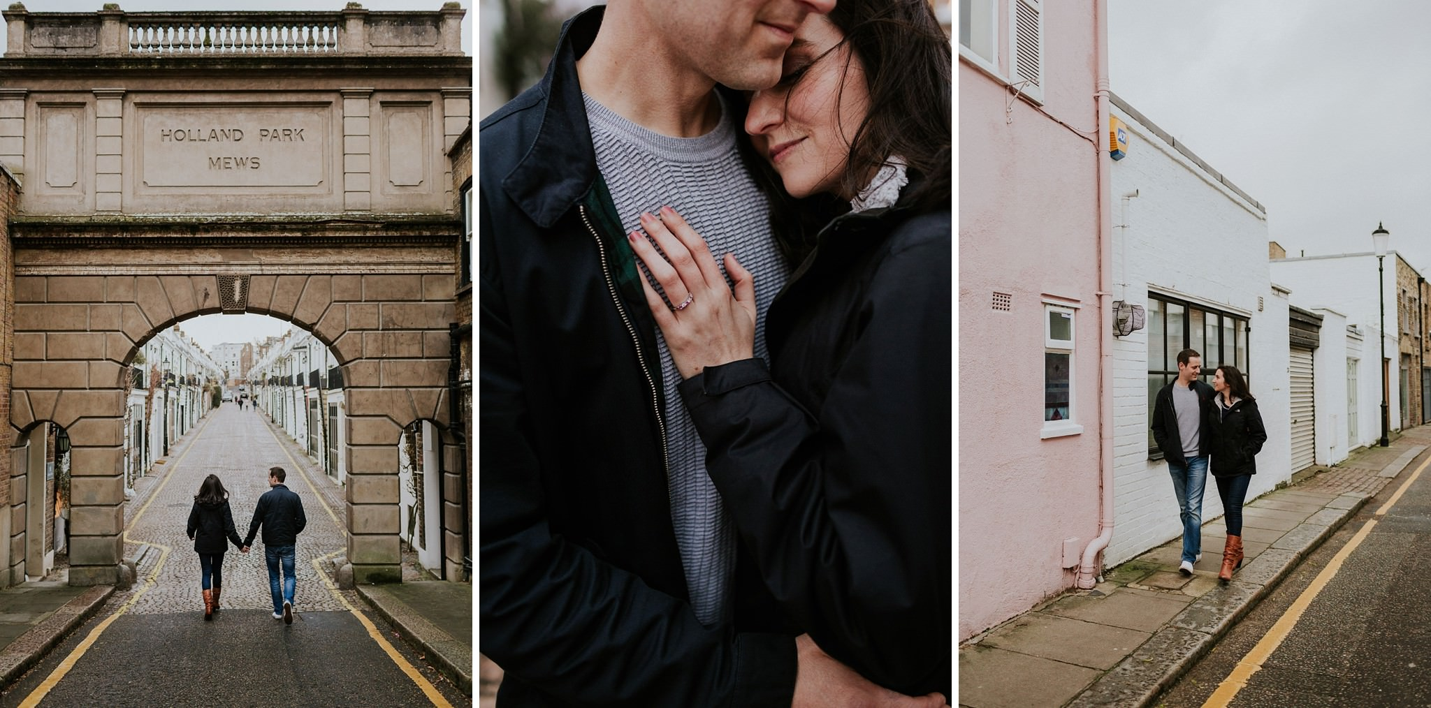 Engagement session in Notting Hill