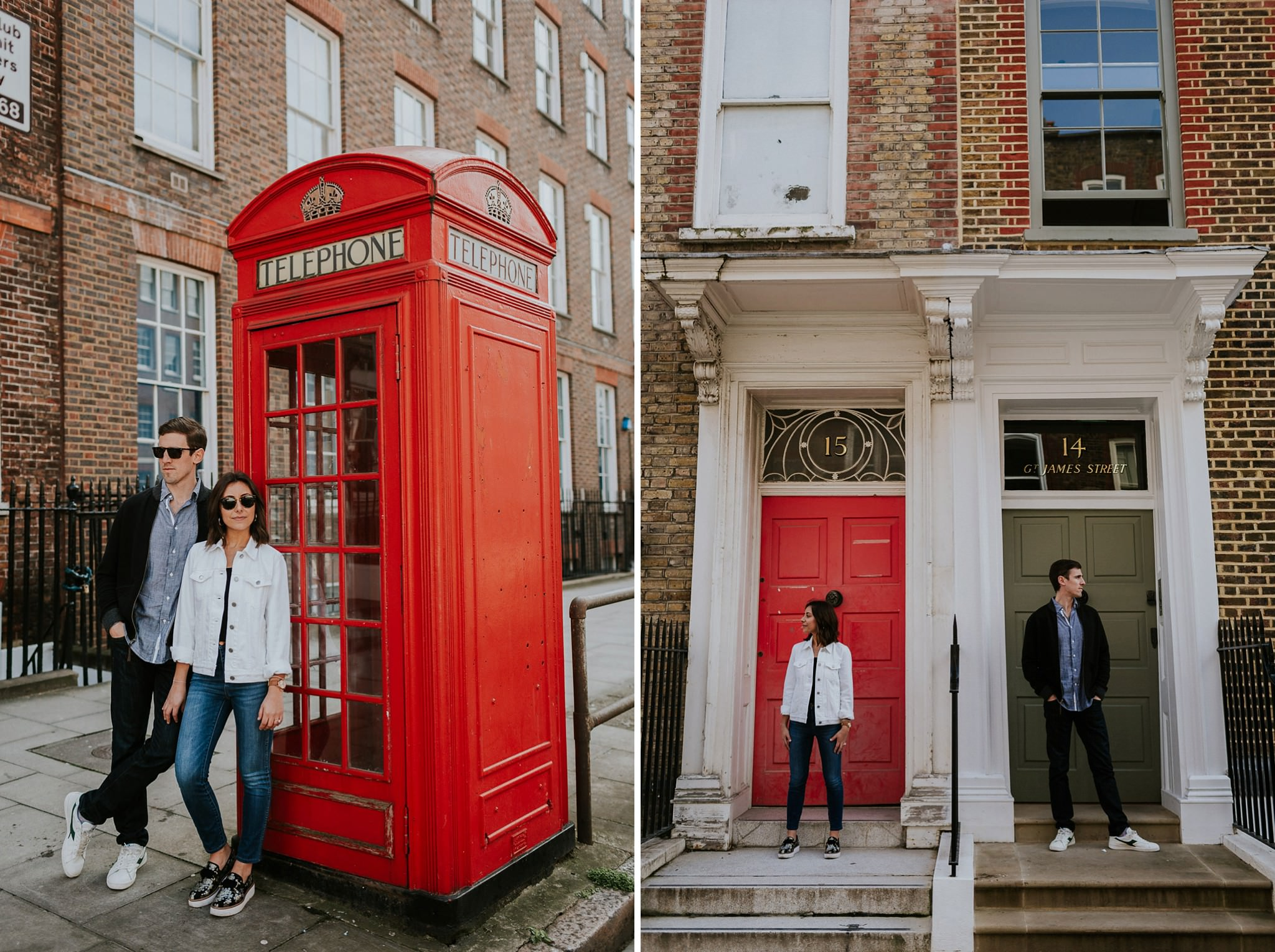 Engagement session in Bloomsbury