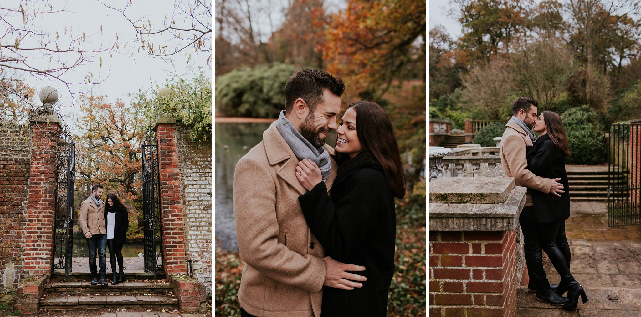 Couple engagement session in Wimbledon