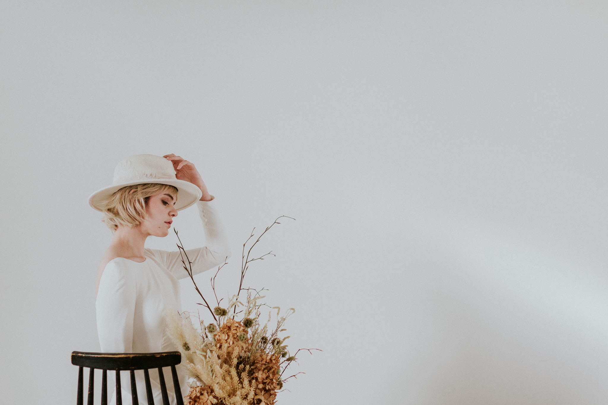 Modern bride at Carousel London