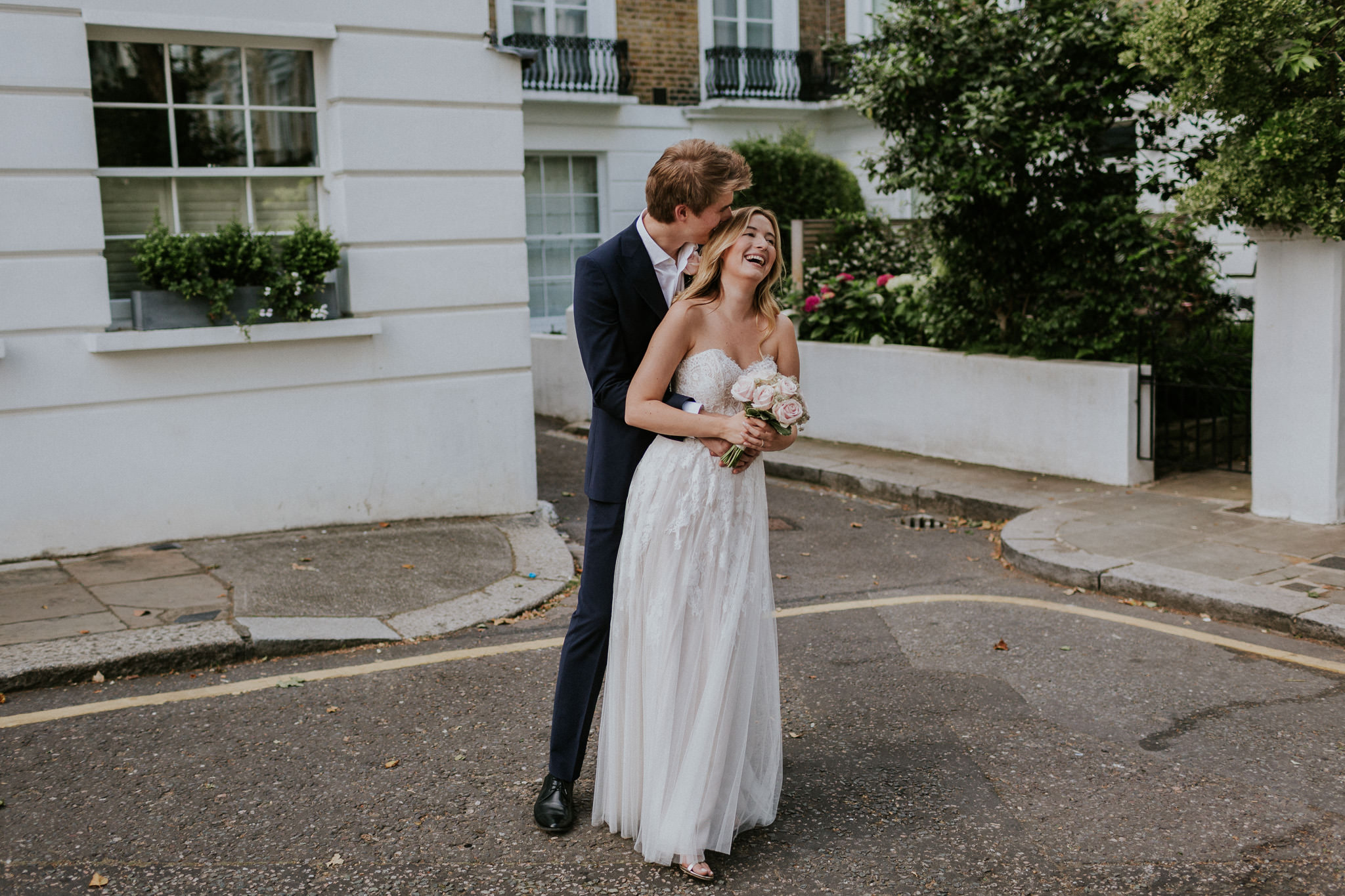 London intimate elopement
