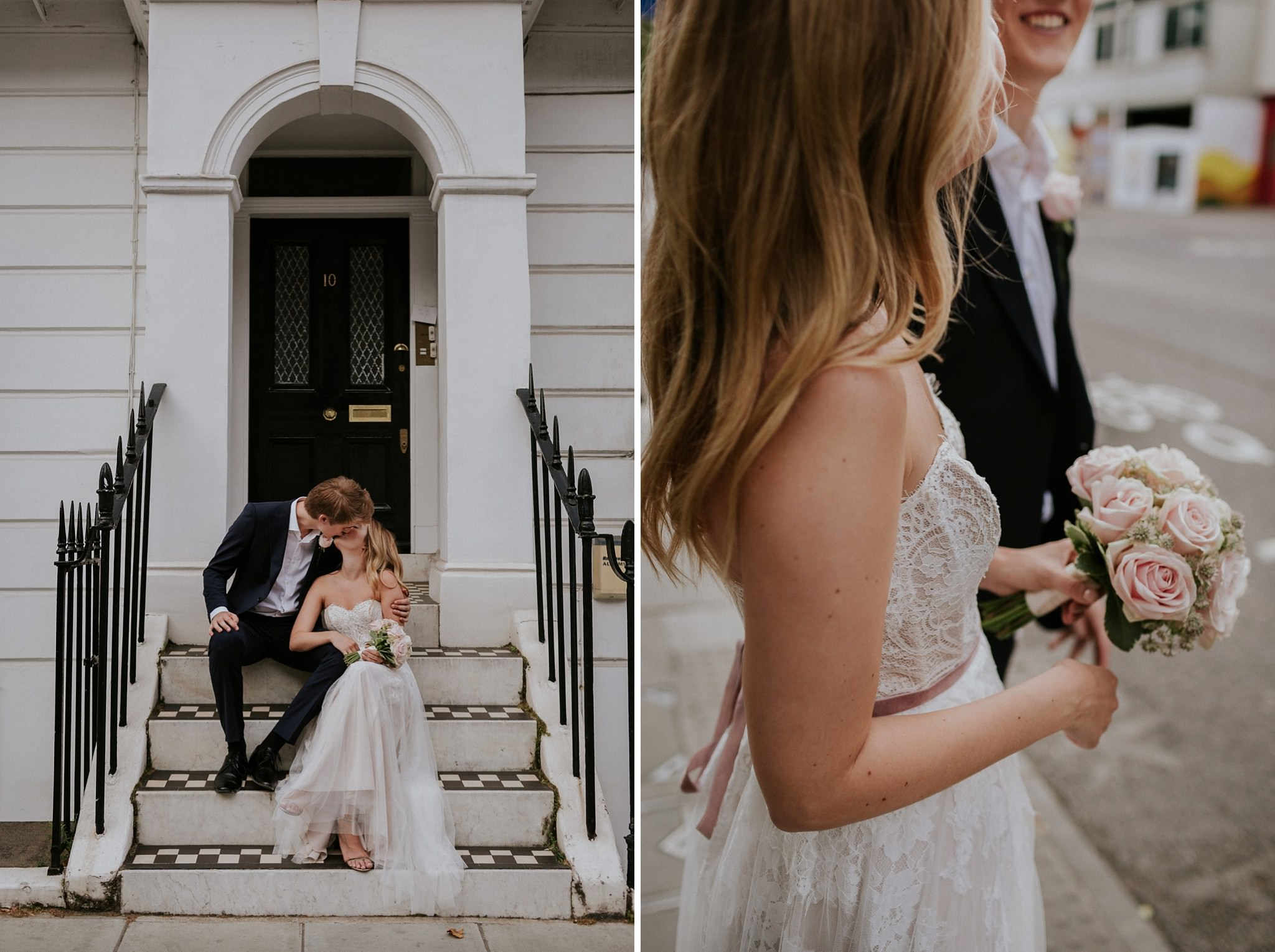 Intimate London wedding in Chelsea