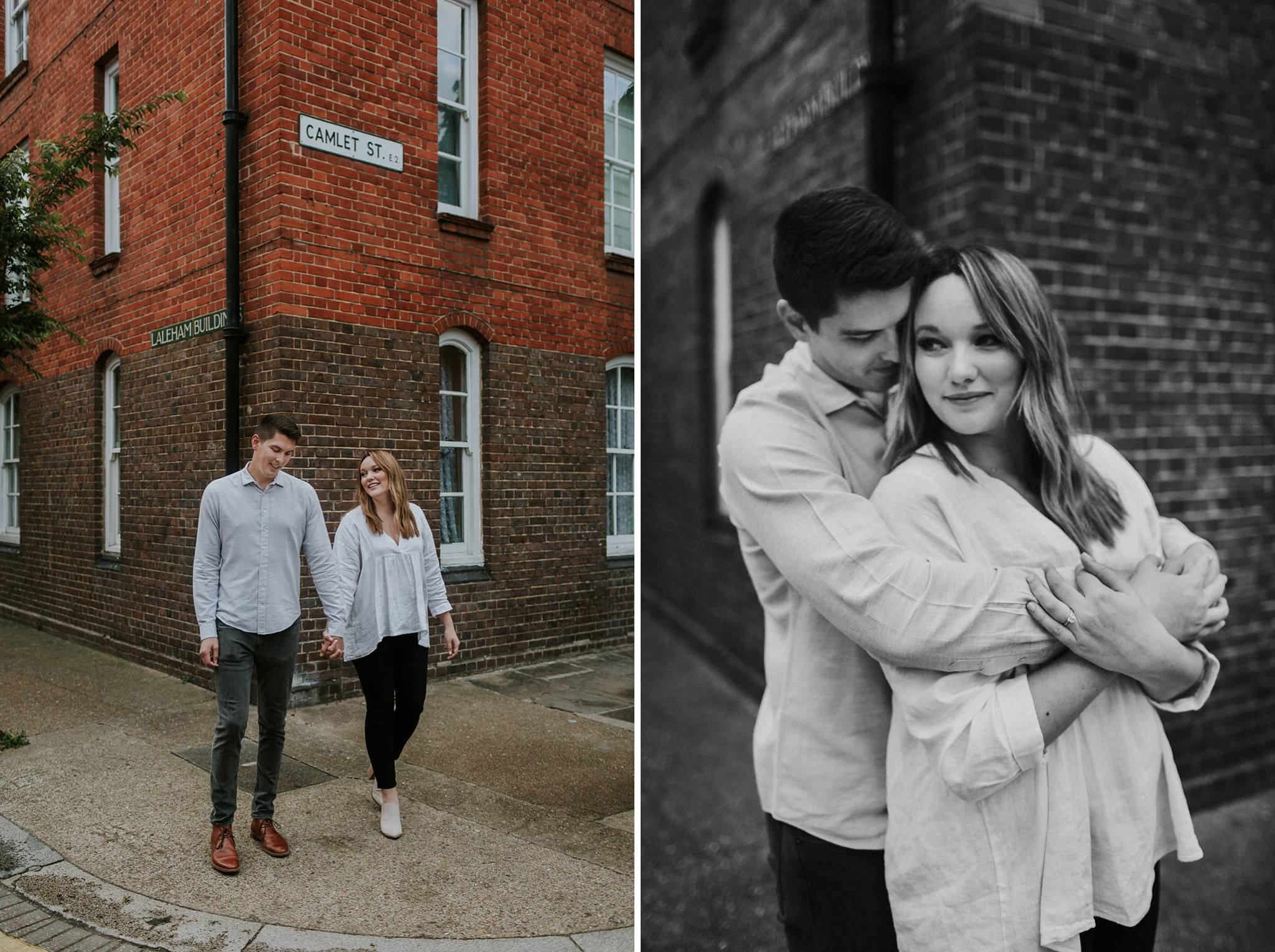 shoreditch couple photographer