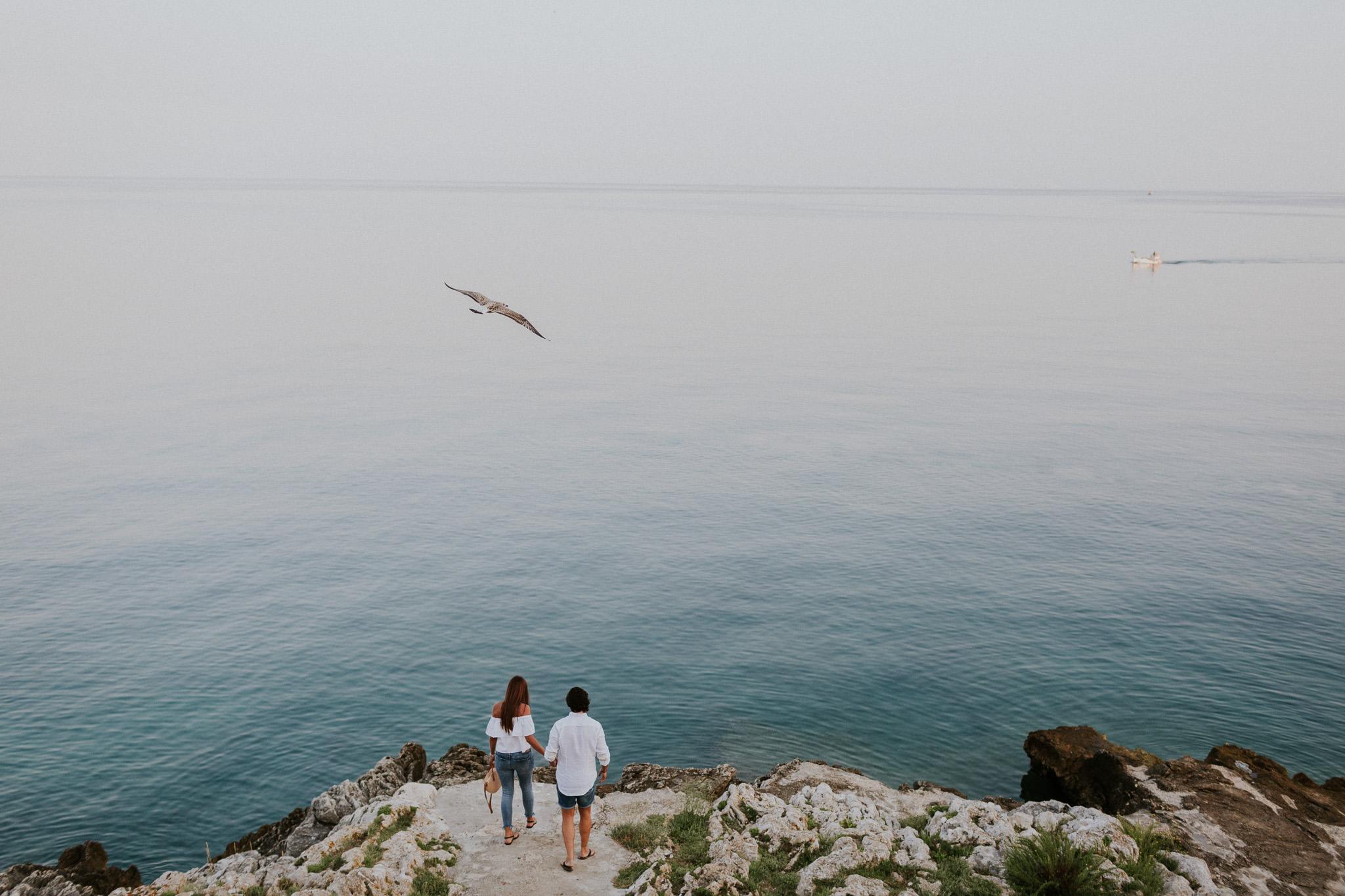 Couple photography session in Rovinj, Croatia