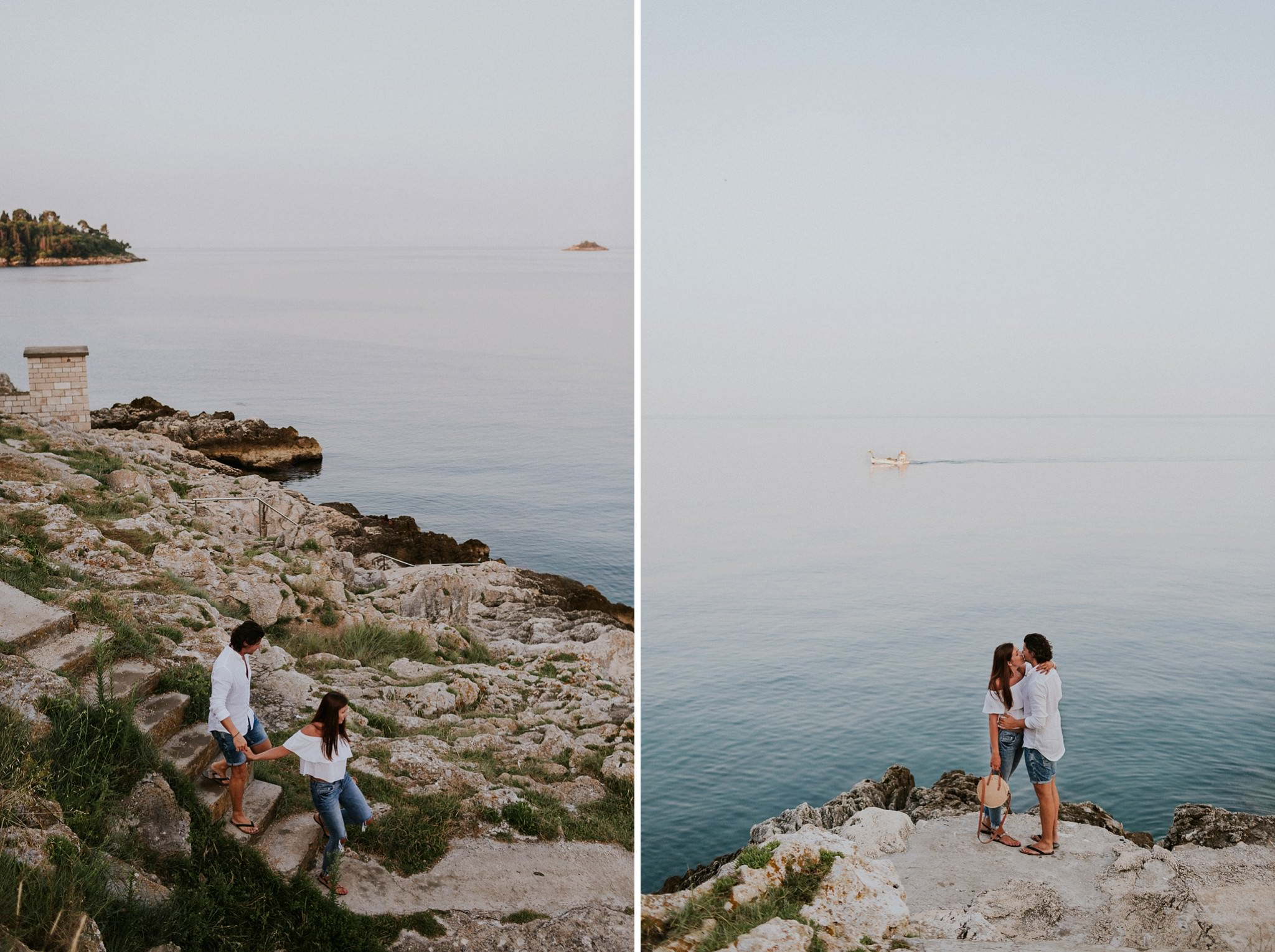 Couple photography session in Croatia